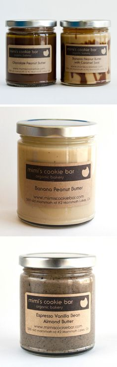 Mimi's Cookie Bar // Peanut and Almond Butters