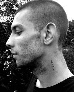 Where wolf's ears are, wolf's teeth are nese #tatto #rune #nauthiz #laguz #runes