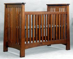 This will be Baby Phelps' crib - my dad and TJ are going to build it! :) (this crib sells for $3000, but I'm not paying that much for a crib and I know my crib will be quality, hand-made awesome-ness!) Yay for a craftsman family!