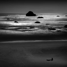 Lone man, Oregon, Cole Thompson Photography