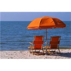 Orange Beach Umbrella and Beach Chairs Orange Beach Alabama, Folding Beach Chair, Outer Banks Vacation, Vacation Deals, Parks And Recreation, Cool House Designs, Beach Chairs, Summer Colors, Summer Blues