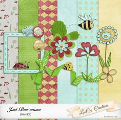 FREE Just Bee-cause by LouCee Creations