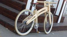 Деревянные велосипеды киевлянина Глеба Караула | «Наш Киев» - новости Киева, афиша Киева, погода Киева