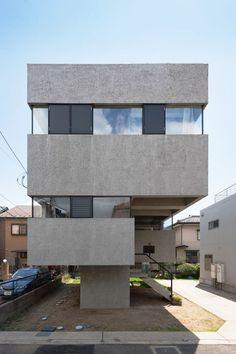 JA+U : House in Funabashi by Nagaishi Architecture © Shinkenchiku-sha