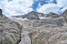 Marmolada, Punta Penia 3343 m, Dolomiti Alps, Mount Everest, Nature Photography, Italy, Mountains, Travel, Italia, Viajes, Nature Pictures