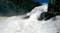 tombe rivières Idaho