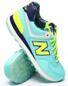 New Balance - 574 Luau Collection Sneakers New Balance Sneakers, New Balance Shoes, Sneaker Games, New Balance 574, Comfortable Flats, Successful Women, Trainers, Street Wear, Luau