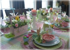 Dining Delight: Colourful Easter Brunch Tablescape