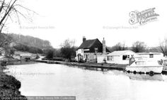 Leighton Buzzard, The Canal And Globe Inn c.1965, from Francis Frith