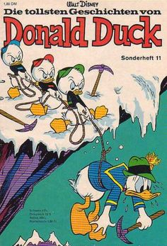 A cover gallery for the comic book Micky Maus Pato Donald Y Daisy, Donald Duck, Disney Duck, Disney Mickey, What A Cartoon, New Ducktales, King Koopa, Looney Tunes Bugs Bunny, 1970s Cartoons