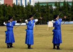 Korea traditional archery of the world
