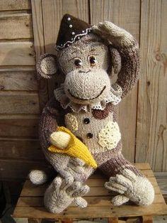 Читать: Как связать обезьяну спицами