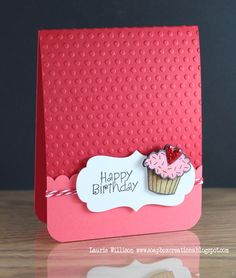 Birthday Card for little girls who love pink or purple!