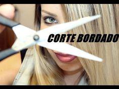 CABELO SAUDÁVEL COM CORTE BORDADO - YouTube