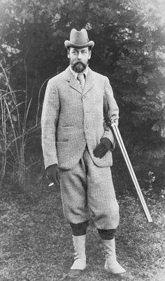 Le roi George V (1865-1936) lorsqu'il était Prince de Galles (1906, Royal Collection Trust, Royaume-Uni)