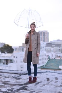 What to Wear on a Rainy Day #fashion #style