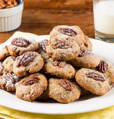 White Chocolate Butter Pecan Cookies-These salty, sweet, buttery cookies are laced with Texas pecans and have a crisp outside and chewy inside. This Chef Eddy recipe makes a perfect after school snack, mid-day sweet treat or after dinner dessert. Great any time of the year - but perfect for a party...these would be fun at a holiday cookie exchange.
