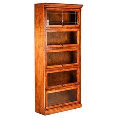 "Forest Designs Mission Legal Barrister Bookcase Finish: Spice Alder, Size: 79"""