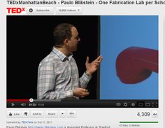 Paulo Blikstein: One Fabrication Lab per School: the FabLab@School project #TED