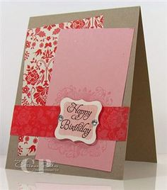 Card making by Catherine Pooler