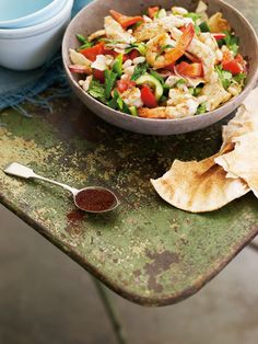 Lebanese Prawn Salad