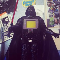 Your lack of Gameboys disturbes me... The Gameboy Darth Vader Edition, cause Sith Happens.