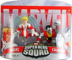 Marvel Superhero Squad Angel & Colossus Mini Figure 2-Pack