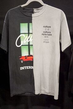0c2c0bffc6 I like the idea of combining two random shirts together! Fashion Graphic,  Fashion Design