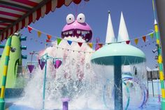 Despicable Me Minion Mayhem officially opens at Universal Studios Hollywood adding Super Silly Fun Land to ride Minion Movie, My Minion, Minions, Universal Studios, Minion Mayhem, Yellow Balloons, Despicable Me, Grand Opening, Streamers