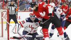 Team Canada responds against Team USA Hockey Goalie, Hockey Games, Hockey Players, Logan Couture, Matt Duchene, Steven Stamkos, John Tavares, Hockey World Cup, Team Usa