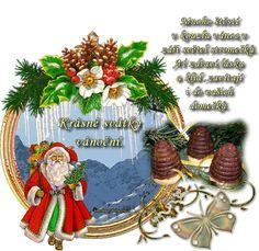 Přání vánoce « Rubrika | OBRÁZKY PRO VÁS Hana, Christmas Wreaths, Table Decorations, Holiday Decor, Home Decor, Christmas Swags, Decoration Home, Holiday Burlap Wreath, Interior Design