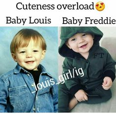 Louis and Freddie are father and son goals ❤