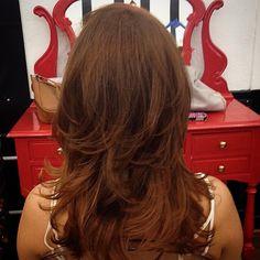 Boa tarde para quem é ruiva! Redhead Effect by Alexandre Rios #circushair #circuspamplona #hair #color #ruivo #redhead #fashion #style