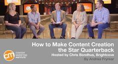 How to make content creation the quarterback of your content marketing team for bigger and better wins – Content Marketing Institute