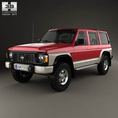 Nissan Patrol 1987 by The model was created on real car base. It's created accurately, in real units of measurement, qualitatively and maximally clos Nissan Suvs, Nissan Patrol Y61, Patrol Gr, Ford Maverick, Jeep Cherokee Xj, Car Repair Service, Car Mods, Japanese Cars, Hot Cars