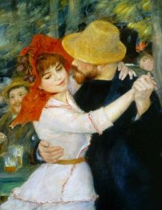Dance at Bougival, Renoir