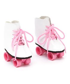 Take a look at this Hot Pink Roller Skate for 18'' Doll on zulily today!