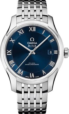 43310412103001 NEW OMEGA DEVILLE HOUR VISION CO-AXIAL MASTER CHRONOMETER MENS AUTOMATIC WATCH Usually ships within 2-4 weeks - Click to View Dads