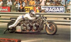 Russ Collins was one of the leading motorcycle drag racers and drag bike builders of the 1960s and '70s.