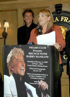 Barry Manilow Photos: Barry Manilow Inducted As Honorary Friar At The Friars Club