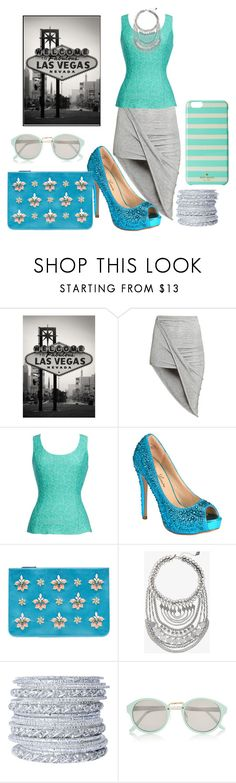 """Holidays: Las vegas"" by abelis ❤ liked on Polyvore featuring H&M, Thalia Sodi, Lauren Lorraine, Emilio Pucci, Express, Chamak by Priya Kakkar, River Island and Kate Spade"