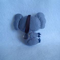 Koala de Fieltro en Llavero o Broche / Annajois - Artesanio - www.annajois.es