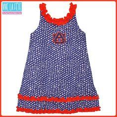 Auburn University Polka Dot Dress by Vive La Fete!