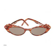 a268701ee3db Traction Productions Butterfly Sunglasses found on Polyvore