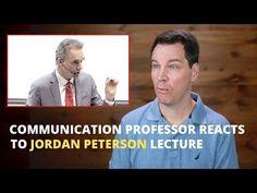 Communication Professor's Reaction to Jordan Peterson Lecture - YouTube The Art Of Listening, Jordan Peterson, Public Speaking, Professor, Communication, Jordans, Positivity, Motivation, Learning