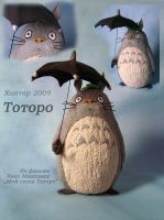 Totoro new by hontor