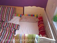 Nach nun 14 Monaten haben wir eingesehen, dass das Babybett im Kinderzimmer nur Deko ist und bestenfalls ein netter Platz um saubere Wäsche zwischenzulagern. Im Schlafzimmer hatten wir zwar ein gro...