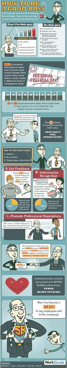 Consejos para ser buen jefe #consultoría #coaching