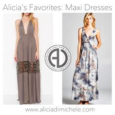 """Get one of Alicia's Favorite Looks: Maxi Dresses  http://ift.tt/1rNgIir search: """"Piper Maxi Dress"""" """"Raelyn Maxi Dress"""" code: """"LOVEWINS"""" for 20% OFF your purchase of $100! #aliciadimichele #aliciadimichele #adgirlgang #adgirllove #love #style #stylist #fashion #fashionblog #fashionblogger #fashionista"""