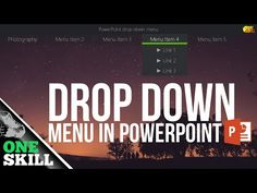 How to drop down menu in PowerPoint (updated) Powerpoint Update, Powerpoint Tips, Powerpoint Design Templates, Microsoft Powerpoint, Computer Help, Computer Programming, Computer Tips, Work Train, Digital Storytelling